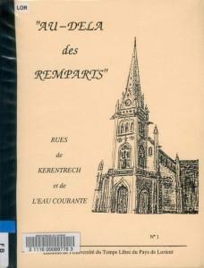 Au-delà des Remparts N°1 - Rues de Kérentreck et de l'Eau Courante - Université du Temps Libre du Pays de Lorient