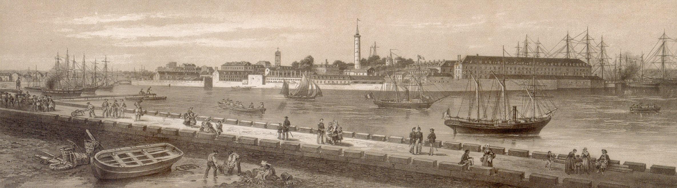 Dernière parution : Lorient - Ville portuaire - Une nouvelle histoire des origines à nos jours - Gérard Le Bouëdec - Christophe Cérino - (cliquer ici)