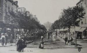 Cours de la Bôve - vue depuis la place Bisson