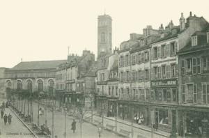 Cours de la Bôve - vue depuis la rue du Port