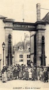 Entrée (grande) de l'Arsenal de la Marine