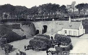Porte de Ploemeur - vue de l'intérieur