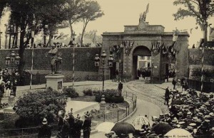Porte du Morbihan - vue de l'extérieur