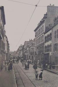Rue de la Patrie - vue depuis la salle des fêtes