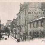 Rue de Liège - vue en direction du cours de la Bôve