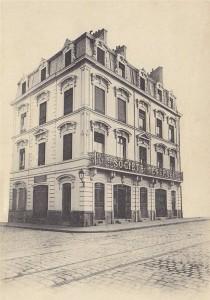 Société Générale ~ à l angle de la Place Alsace Lorraine et de la rue Turenne