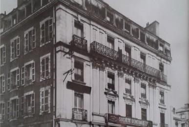 Société Générale - anciennement Cercle du Commerce ~ à l angle de la place Alsace Lorraine et de la rue Vauban