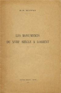 Les monuments du XVIIIe siècle à Lorient