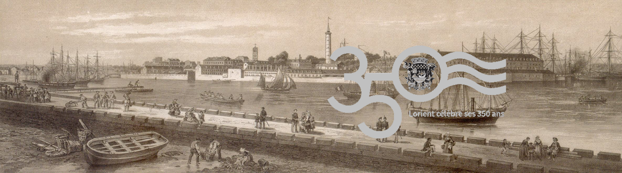 Lorsque Lorient se livre - Dernière parution : KEROMAN - Son histoire, ses rues, ses activités