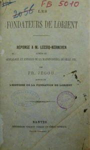 Fondateurs de Lorient - François Jégou