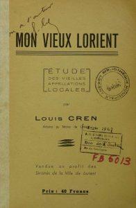 Mon vieux Lorient - Louis Cren