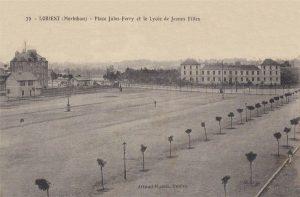 Place Jules Ferry - Collège de Jeunes Filles