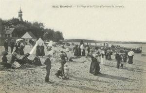 Kernével - La plage