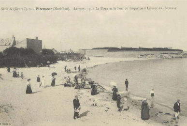 Larmor - La plage du fort de Loqueltas