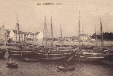 Ploemeur - Lomener - Le port