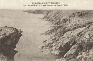 Ile de Groix - Grotte - Trou de l'Enfer