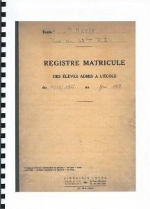 Histoire de l'école Sainte Marie (Pie X) - Résultat des recherches de Florence VIARD