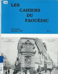 Les cahiers du Faouëdic N°2