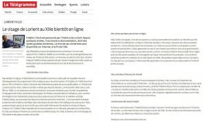 Le Télégramme du 24-07-2011