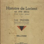 Histoire de Lorient au XVII siècle - Louis Chaumeil